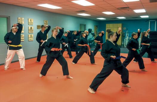 adult karate class